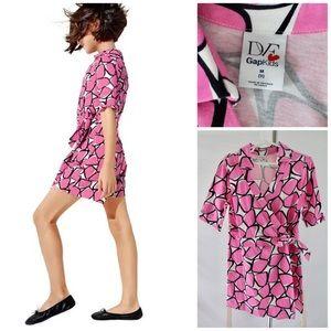 DvF Wrap Romper Dress for GAP Kids Size M or 8
